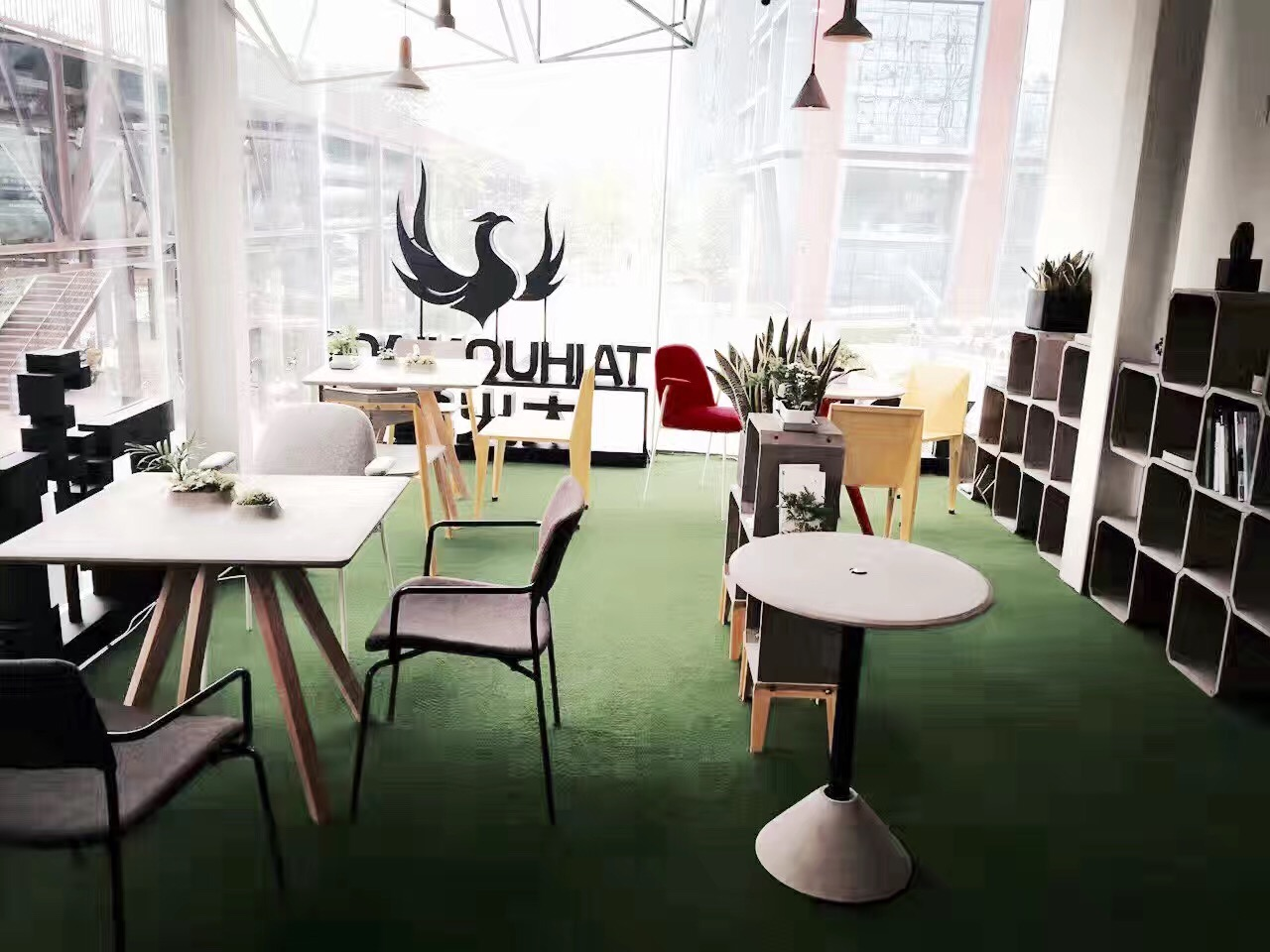 北京太火鸟未来商店TAIHUONIAO future shop Beijing—Stilo chair复古椅+Bend chair折纸椅(1)