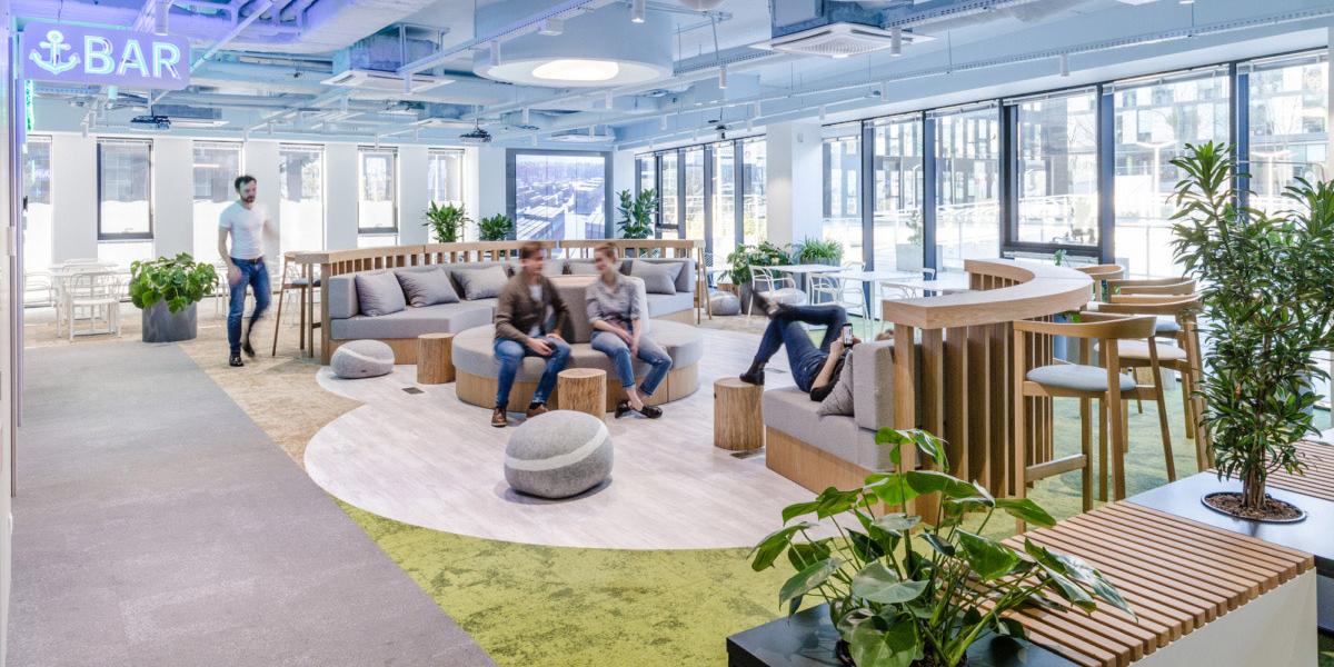 北欧Nordea IT 波兰格丁尼亚办公设计欣赏