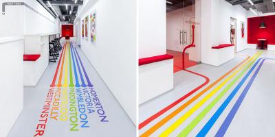 办公设计 | 乌克兰Underhub学校与联合办公