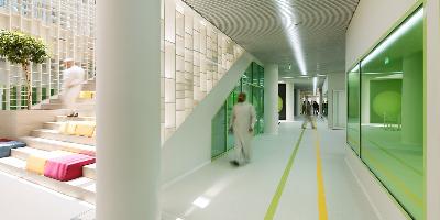 阿卜杜拉国王经济城TWA国际学校设计欣赏